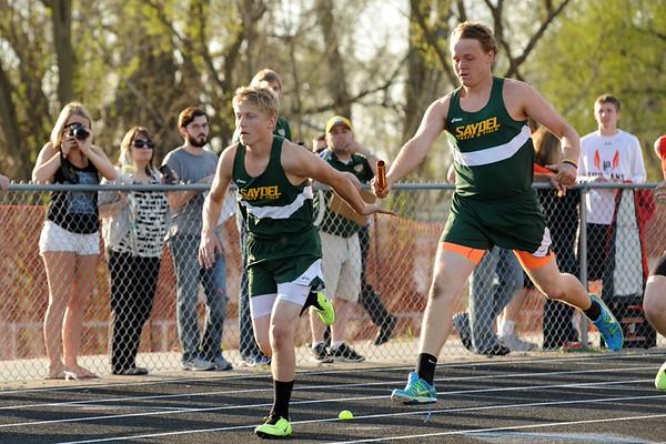 Boys Track @ Saydel 2015 100