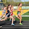 Girls Track @ Saydel 2015 100