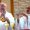Dn. David and Fr. Quang