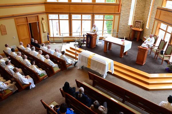 Saying good-bye to Fr. Ray