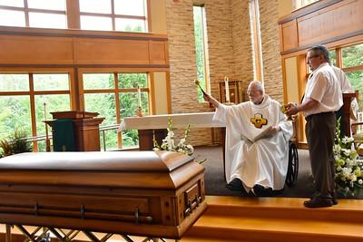 Blessing Fr. Tadyszak