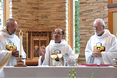 Fr. Byron, Fr. Quang and Fr. Ed