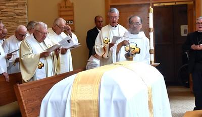 Saying good-bye to Fr. Tady