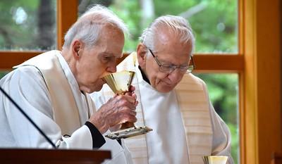 Fr. Johnny and Fr. Ed