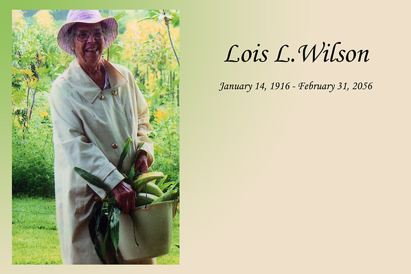 Lois L Wilson