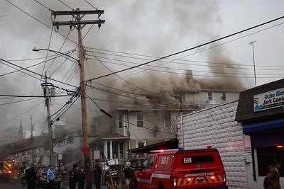 2 Alarm House Fire - 32 Vine St, Bridgeport, CT - 1/13/21