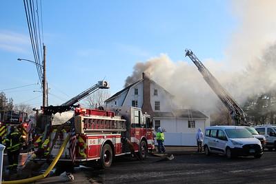 2 Alarm House Fire - 12 Ochsner Pl. Bridgeport, CT - 1/12/2021