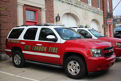 Fire Marshal's vehicle