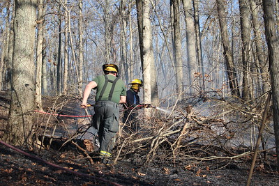 Brush Fire - Cranska Rd, Moosup, Plainfield, CT - 11/20/20