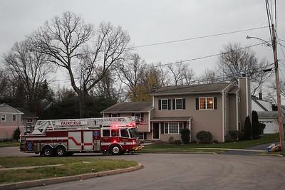 Chimney Fire - 232 Oakwood Dr. Fairfield, CT - 11/22/2020