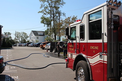 Dumpster Fire - 245 Unquowa Rd, Fairfield, CT -  9/8/2020