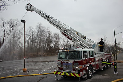 Apparatus Training - Greenfield St, Fairfield, CT - 1/15/21