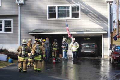 Garage Fire - 8 Capitol Dr,  Shelton, CT - 1/8/2021