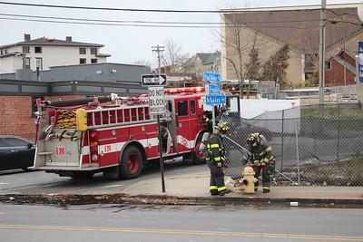 Gas Line Break - 105 Frank St, Bridgeport, CT - 11/17/20
