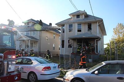 House fire - 58 Hill St. Bridgeport, CT - 10/9/2020