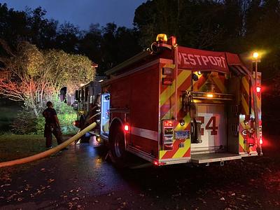 Structure fire - 22 Hiawatha Lane, Westport, CT - 10/23/2020