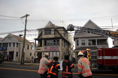 Structure Fire - 1105 North Ave. Bridgeport, CT - 12/28/2020