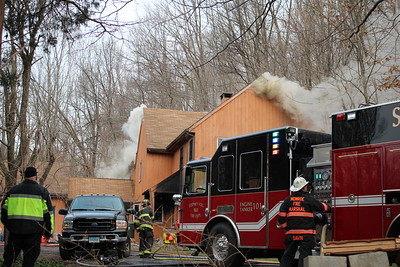 Structure Fire - 138 Hattertown Rd. Monroe, CT - 12/9/2020