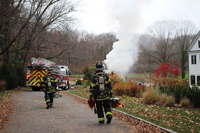 Structure Fire - 360 Mine Hill Rd, Fairfield, CT - 11/17/20