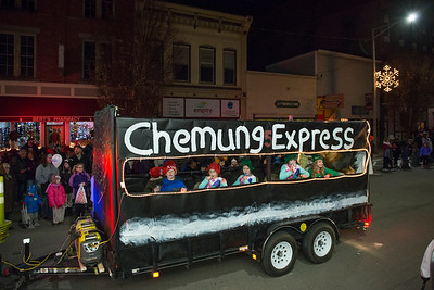 Sayre Christmas Parade Photos 2017