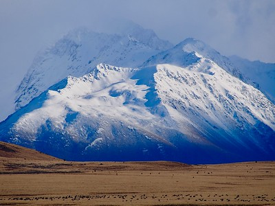 Hills in the Mackenzie Country, South Island, New Zealand