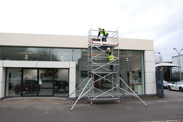 Contractor Scaffold Towers [3012-002]