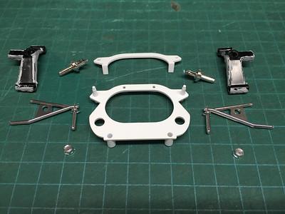 Honda RA273 - Bondai 1/12 Scale Plastic Model