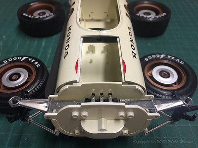 Honda RA273 - Bandai 1/12 Scale Plastic Model