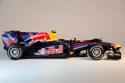 Tamiya 1/20 Scale Plastic Red Bull Racing RB6