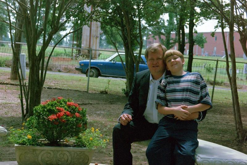 Dad and Luke.