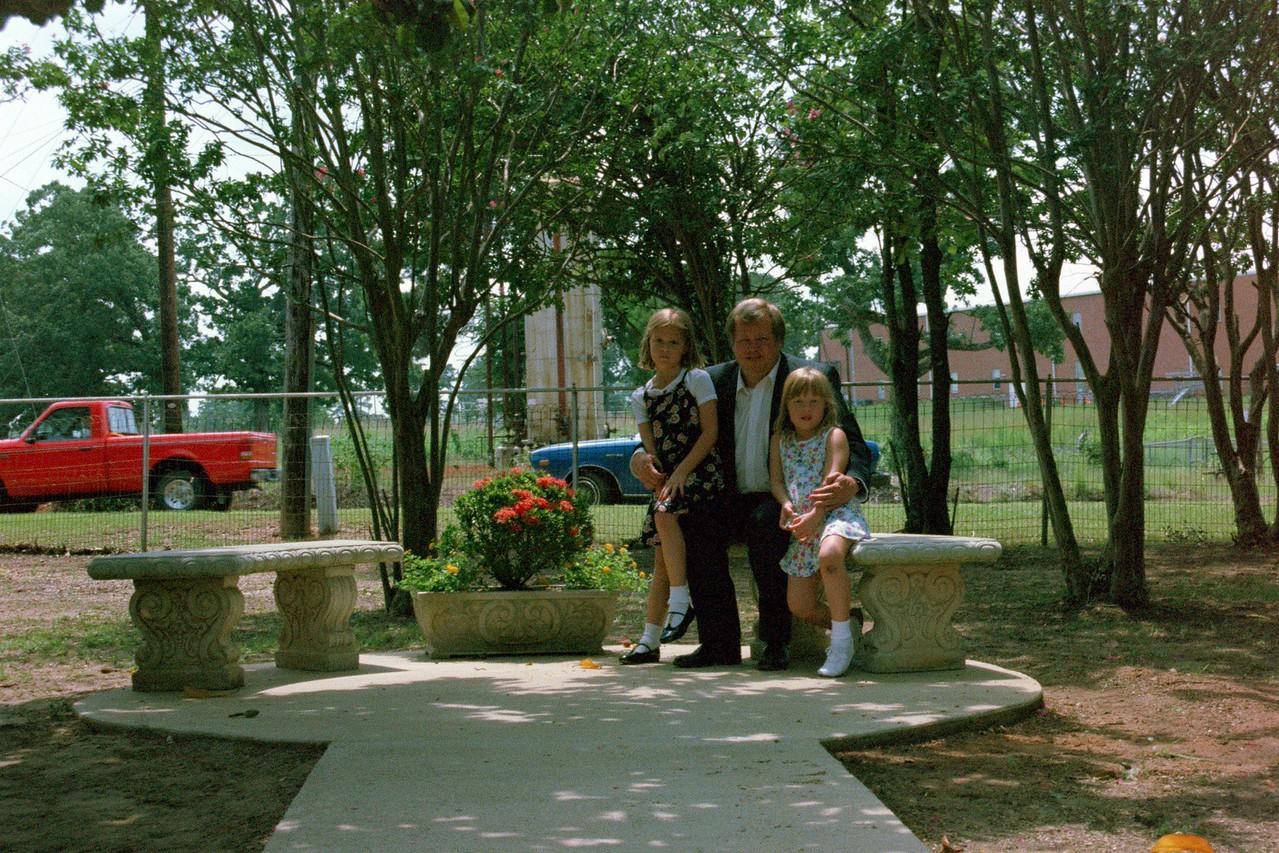 Sarah, Dad, and Katie.