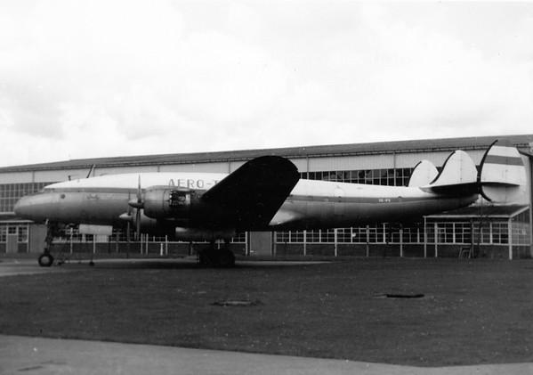 OE-IFE Lockheed Constellation Aerotransport