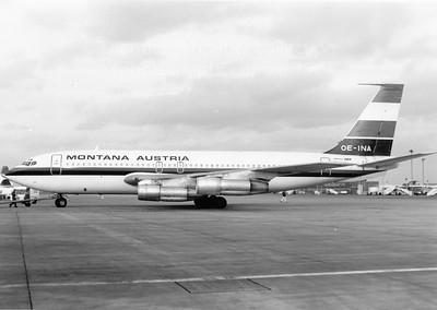 OE-INA Boeing 707-100 Montana Austria