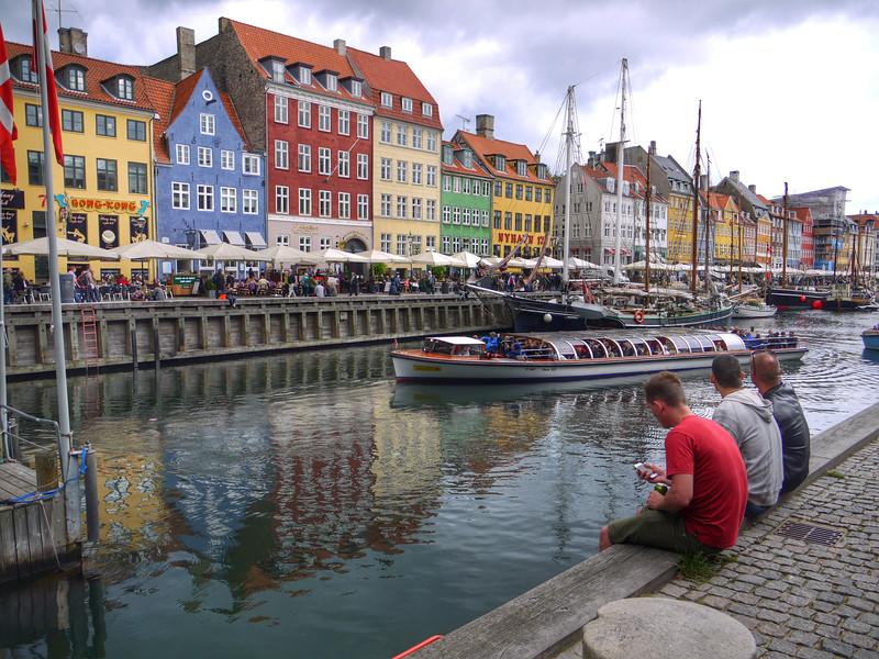 Nyhavn Canal, Copenhagen, Denmark