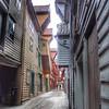 Recreated Hanseatic League town, Bergen, Norway