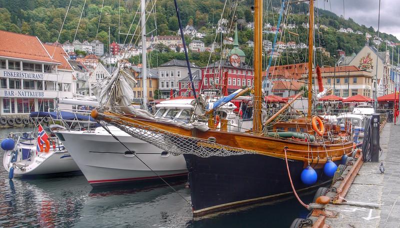 Harbor, Bergen, Norway