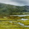 Settlement along a river, Norway