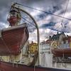 Lightship hotel on Nyhavn Canal