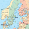 Scandinavia and the Nordic Countries: Map