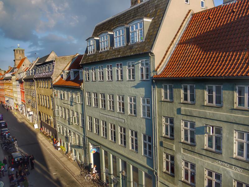 View from our hotel window, Copenhagen, Denmark