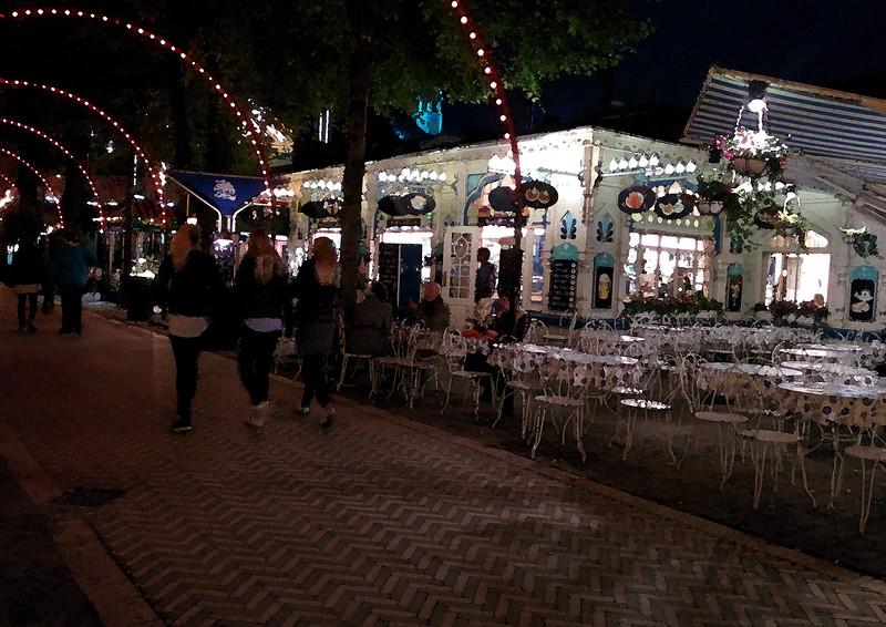 Promenade in Tivoli Gardens