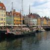 Nyhavn Canal, in Copenhagen, Denmark