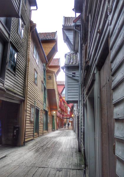 Hanseatic League museum in Bergen, an open-air museum.