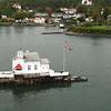 Island off Oslo, from ferry to Copenhagen