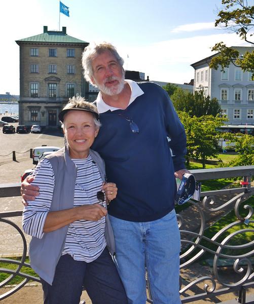 Susie and Peter in Copenhagen