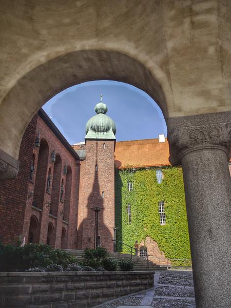 Courtyard, Stockholm City Hall