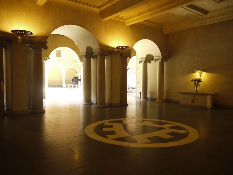 Inside Stockholm City Hall