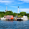 Freetown Christiania by water