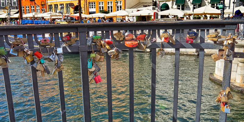 Locks upon the water