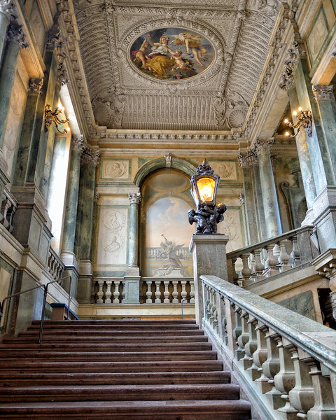 Stockholm Palace stairway